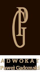 Adwokat Paweł Gadomski kancelaria adwokacka Logo